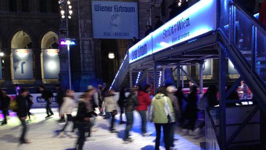 Wiener Eistraum 2012 in Wien